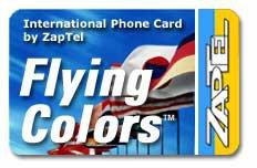 ZapTel Calling Card