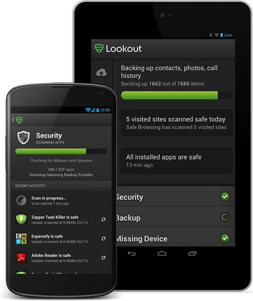 Lookout-security-App