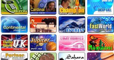 Buy phone cards online