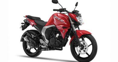 Yamaha FZ FI Motorcycle.